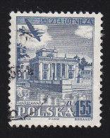 POLAND - Scott #C39 Lazienki Park, Warsaw (*) / Used Stamp - Used Stamps