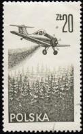 POLAND - Scott #C55 PZL-106 Kruk (*) / Used Stamp - Used Stamps