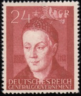 POLAND - Scott #NB20 Hans Durer / Mint H Stamp - Gobierno General