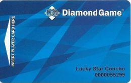 Lucky Star Casino - Choncho OK - Diamond Game Card / Slot Card - Casino Cards