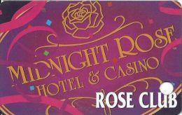 Midnight Rose Hotel & Casino Cripple Creek CO Slot Card - Casino Cards