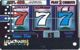 The Mill Casino North Bend OR Slot Card - Sample Card Punched VOID - Casino Cards
