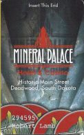 Mineral Palace Casino Deadwood SD Slot Card  (PRINTED) - Casino Cards