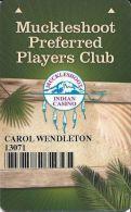Muckleshoot Casino Auburn WA Slot Card - Casino Cards