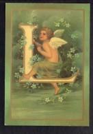 Ange - Angelot / L'Alphabet Des Angelots / Lettre L / Série Moderne - Anges