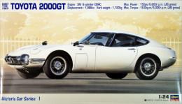 Toyota 2000GT Early Type ( 1967 ) 1/24 (  Hasegawa ) - Cars
