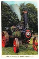 WALLIS STEVENS Expansion Engine  - 7. H.P.   -  (England) - Tractors