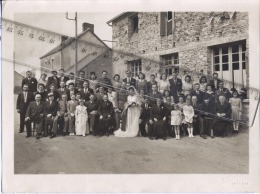 44  -  GUENROUET  -  PHOTO   -  Mariage   -  Photographie  Paul  SANNEAU à  GUEMENE - 1948 - Lieux
