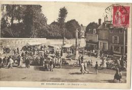 COURSEULLES.  Le Marché. - Courseulles-sur-Mer