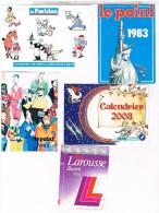 CALENDRIERS PETIT FORMAT   2003+1983 +1984 +1984+1993      CAL12 - Kalenders