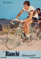 BICICLETTE BIANCHI CAMPAGNOLO CON FELICE GIMONDI 1973 - Publicité