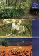 Ancien Dépliant Sur La Montagnola (Siena, Sienne) (1995) - Dépliants Touristiques