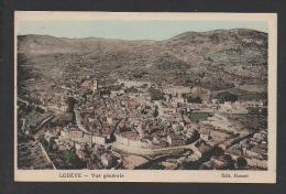 DD / 34  HERAULT / LODÈVE / VUE GENERALE / CIRCULÉE EN 1921 - Lodeve