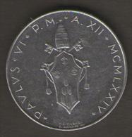 VATICANO 50 LIRE 1974 - Vaticano