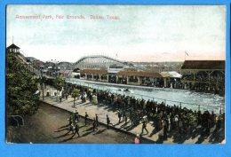 F447, Amusement Park, Fair Grounds, Dallas, Texas, Non Circulée - Dallas