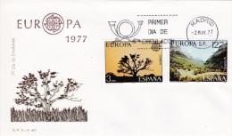 Spain FDC 1977 Europa CEPT (G78-67) - Europa-CEPT