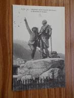LE MONUMENT DE SAUSSURE  CHAMONIX-MONT-BLANC  Années 20 - Alpinisme
