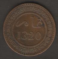 Marocco - Abdul Aziz - 10 MAZUNAS (1320 / 1902) - Marocco