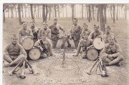 Cpa/carte Photo-54-vendoeuvre-le 26 E R.I-vive La Clique-orchestre/fanfare Militaire (clairon) - Personnages