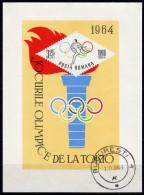 RUMÄNIEN 1964 - Olymische Spiele Tokio 1964 - Block 58 - Summer 1964: Tokyo