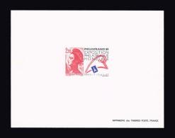 FRANCE EPREUVE DE LUXE N° 2461 (*) PhilexFrance 89. Cote Yvert 80 €. TTB - Prove Di Lusso