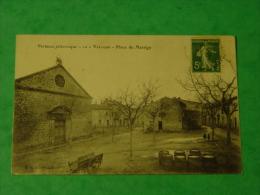 ARDECHE-VERNOUX PITTORESQUE-10-PLACE DU MANEGE  ED C VINARD - Vernoux