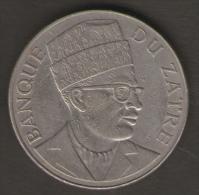 ZAIRE 20 MAKUTA 1976 - Zaire (1971-97)