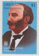 John W Strutt OF UK, Rayleigh Scattering, Nobel Prize Physics MNH Grenada - Fisica