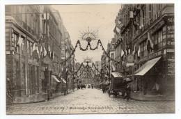 ROUEN-Fête Millénaire Normand--Rue Rollon (animée,décorations)..... Pas Très Courante................à Saisir - Rouen