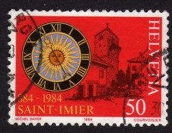 SCHWEIZ 1984 - Sonnenuhr - Uhrmacherei