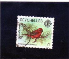 1982 Seychelles - Madagascar Fody - Seychelles (1976-...)