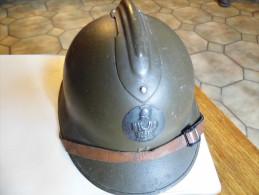 CASQUE 39-45 COMPLET R-F GÉNIE - Headpieces, Headdresses