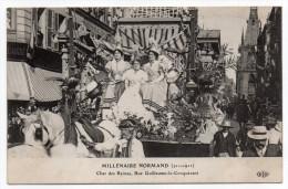 ROUEN-Fête Millénaire Normand--Cortège,Char Des Reines,rue Guillaume Le Conquérant (animée,chevaux).......à Saisir - Rouen