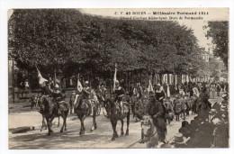 ROUEN-Fête Millénaire Normand--Cortège--Ducs De Normandie (très Animée,chevaux).......à Saisir - Rouen