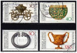BRD 1976 - Archäologie - Archäologisches Kulturgut - MiNr.897-900 Kompletter Satz - Archäologie