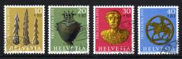 SCHWEIZ 1972 - Archäologische Funde - MiNr.971-974 Kompletter Satz - Archäologie