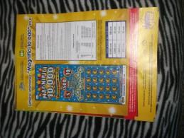 Lotteria Istantanea Gratta E Vinci- Locandina - Biglietti Della Lotteria