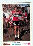 André DIERICKX  . 2 Scans Cyclisme. Carpenter Shimano Flandria 1973 - Radsport