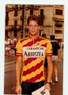 Luca ROTA , Autographe Manuscrit, Dédicace. 2 Scans. Lire Descriptif.  Cyclisme. Ariostea 1986 - Cyclisme