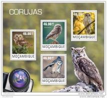 MOZAMBIQUE 2014 ** M/S Owls Eulen Hiboux A1447 - Eulenvögel