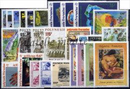 -Polynésie Année Complète 1992 - Années Complètes