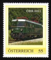 ÖSTERREICH 2007 ** Eisenbahn, Train ÖBB 4061 - PM Personalized Stamp MNH - Trenes
