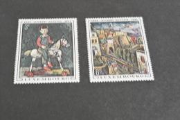 K10520- Set MNH  Luxembourg 1969 Mi# 790-791 MNH Art. Painting. Joseph Kutter - Arte