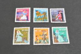 K10523- Set MNH  Luxembourg -  Caritas 1966- Fairy Tales - Contes, Fables & Légendes