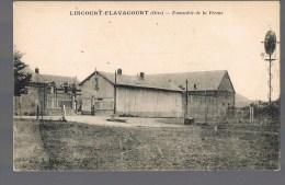LINCOURT - FLAVACOURT . Ensemble De La Ferme . - Andere Gemeenten