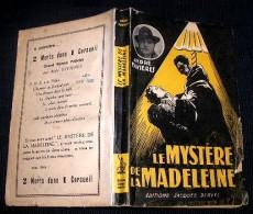 FAVIERES André : LE MYSTERE DE LA MADELEINE. (1950). Exemplaire Dédicacé Par L' Auteur - Livres, BD, Revues