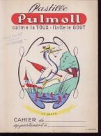 PC054 - PROTEGE CAHIER - PASTILLE  PULMOLL ( Pharmacie BAILEY ROMORANTIN) - Protège-cahiers
