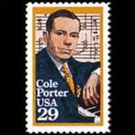 U.S.A. 1991 - Scott# 2550 Composer Porter Set Of 1 MNH - United States
