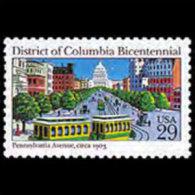 U.S.A. 1991 - Scott# 2561 Columbia District Set Of 1 MNH - United States