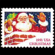 U.S.A. 1991 - Scott# 2579 Christmas 29c MNH - United States